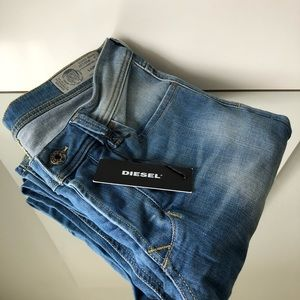 Diesel Larkee Straight Leg Faded Men Jeans 28 X 32